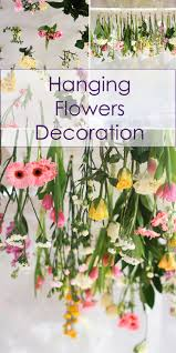 hanging flowers decoration flower decoration decoration and