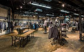 Retail Store Lighting Fixtures Allsaints Iconic Style Brought To With Bespoke System From