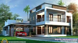 modern style home plans contemporary style home plans in kerala modern kerala style house