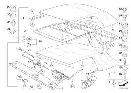 2001 Bmw 325i Interior Parts Bmw E30 E36 Convertible Top Repair And Adjustment 3 Series 1983