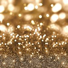golden christmas glitter background stars bokeh lights
