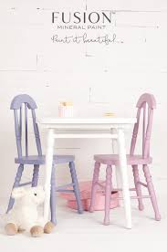 32 recipes for mixing custom colours using fusion mineral paint