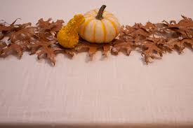 Leaf Table Runner Diy Autumn Leaves Table Runner The Sweetest Occasion