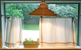curtains ideas cafe curtains in kitchen
