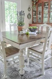 Painted Dining Table Ideas Ivory Painted Dining Tables Dining Room Ideas
