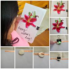diy mother u0027s day card and galileo camps my charmed mom