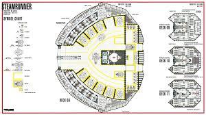 Uss Enterprise Floor Plan star trek blueprints steamrunner class starship prototype nx 52000