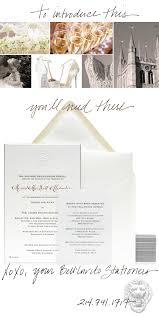 white tie wedding invitations bell u0027invito blog