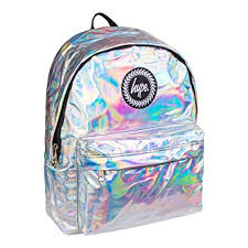 holographic bags hype polka dot holographic backpack silver co uk shoes