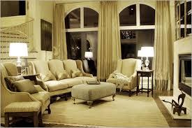 Cream Monochromatic Curtains For Living Room Houseyamamotocom - Living room curtains design