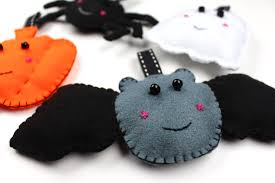 diy felt halloween decorations youtube
