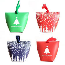 christmas gift bags diy christmas gift bags with rope handle snowflake pattern candy