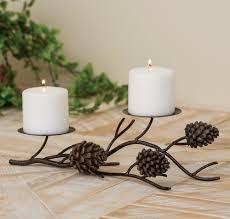 rustic candles and rustic candle holders black forest décor