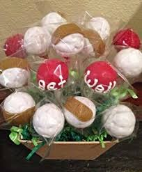 get well soon cake pops cake pop bouquet with apples cake pop gift bouquets