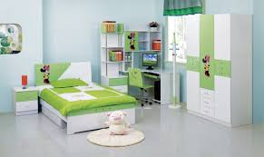 Bedroom Furniture Sets Full by Kids Room Green Accent Bed Set And Computer Desk Set Also