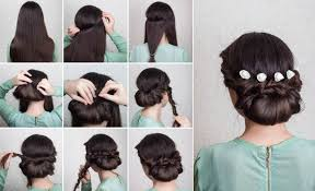 hairstyles with steps step by step wedding hairstyles for long hair wedding hairstyles