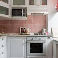 kitchen backsplash ideas with white cabinets houzz 75 beautiful kitchen with pink backsplash pictures ideas