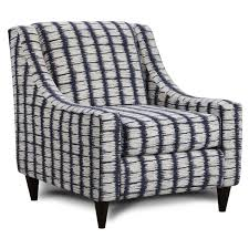 Navy Accent Chair Fusion Furniture Accent Chairs 592 Four Points Navy Stationary