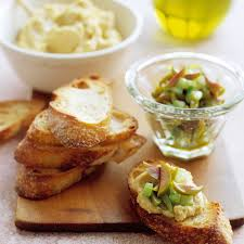 light appetizers for parties mediterranean crostini