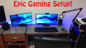 epic dorm room gaming setup youtube