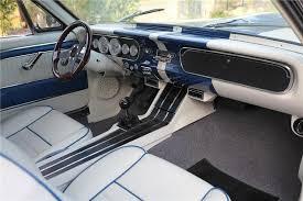 65 Mustang Interior Parts 1965 Ford Mustang Custom Fastback 137793