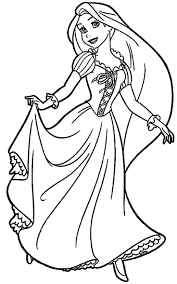 rapunzel coloring page u2013 pilular u2013 coloring pages center