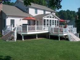 Backyard Deck And Patio Ideas by 137 Best Backyard Deck Images On Pinterest Backyard Ideas