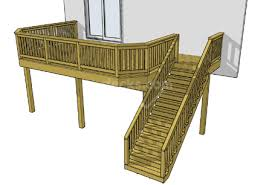Free Wood Deck Design Software by 15 Free Deck Plans Sizes Available For Immediate Download