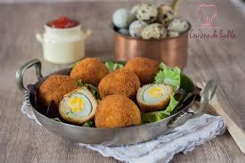 cuisine ecossaise œuf de caille à l écossaise البيض الاسكتلندي