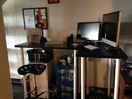 Cubicle Standing Desk Diy Standing Desk Cubicle Home Design Ideas