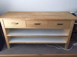 Ikea Kitchen Base Cabinet Modern Ikea Värde Base Cabinet Birch Birch Veneer Free Standing
