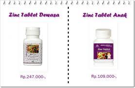 Obat Zinc zinc tablet untuk diare