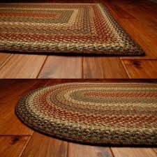 Outdoor Braided Rugs Sale by Decorating Handmade Round Braided Rugs In Multicolor For Floor