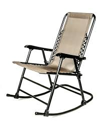 Blue Wicker Rocking Chair Amazon Com Camco 51851 Tan Folding Rocking Chair Automotive