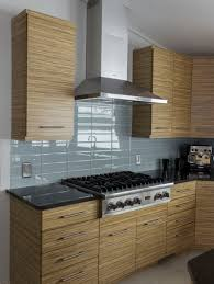 Horizontal Kitchen Cabinets Zebrawood Kitchen Cabients Contemporary Kitchen Remodel Ideas