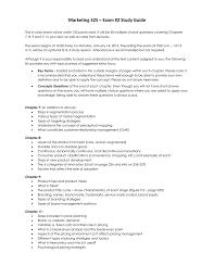 marketing 325 u2013 exam 2 study guide