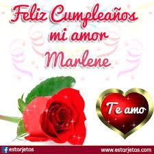 imagenes que digan feliz cumpleaños mi reina felíz cumpleaños marlene imágenes gifs de cumpleaños estarjetas com