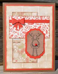 white pines paper packet with ctmh u0027s chocolate and cranberry