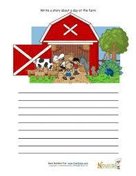Writing Barn Creative Writing Activity For Elementary Children Farm