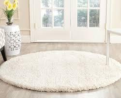 floor stunning ivory shag rug design bring comfort your flooring