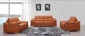 Orange Leather Sofa Lovable Orange Leather Sofa Set Couch And Sofa Set U2013 Interiorvues