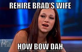 Brad Meme - who is brad s wife