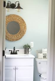 friendly small bathroom makeover