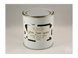 matt water based lacquer interior milk paint