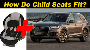 how many seater is audi q7 2017 audi q7 child seat review