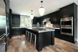 Black Appliances Kitchen Design - amazing black kitchen cabinet and white modern designs cabinets