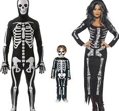 Halloween Skeleton Male Female Kid Halloween Skeleton Bone Costume 2581854 Weddbook