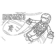 ironman coloring free download