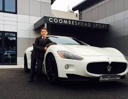 maserati celebrity blog prestige super car