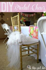 bridal shower chair diy bridal chair tutorial bridal showers and weddings